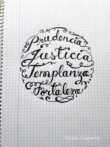 Letrazos... casi, casi lettering!!
